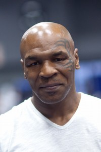 mike tyson 200x300 Mike Tyson shows a soft side for those with autismin at centre in Dubai