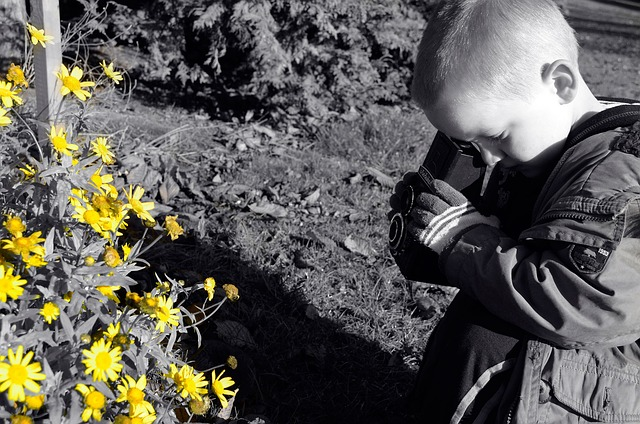 Autistic kids and Cameras: A good combination