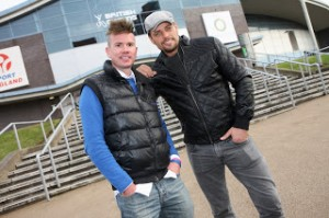 Keith Duffy and Rik Waddon