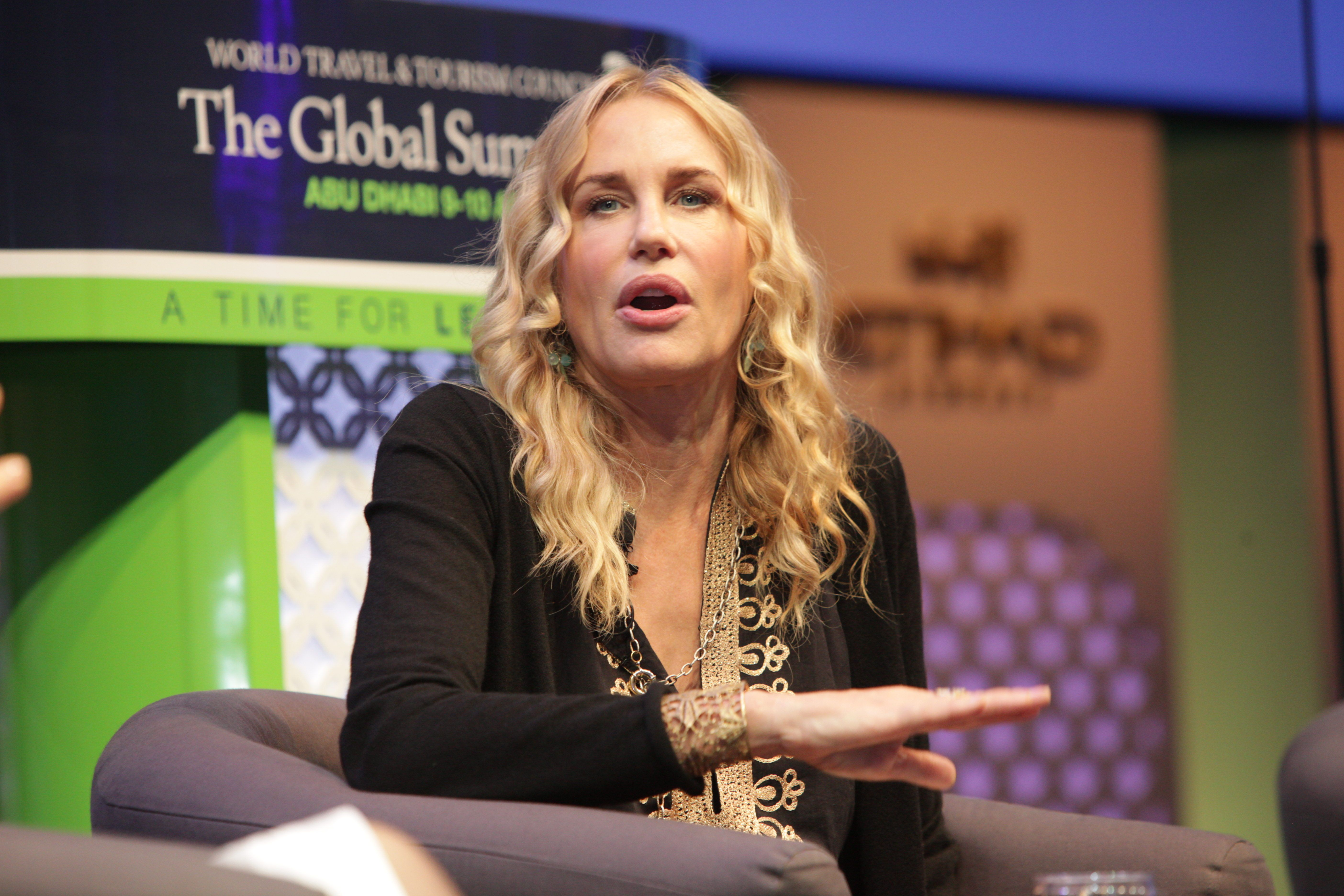Daryl Hannah talks candidly about Autism struggles