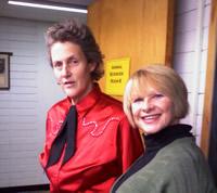Temple Grandin and Joanne Lara