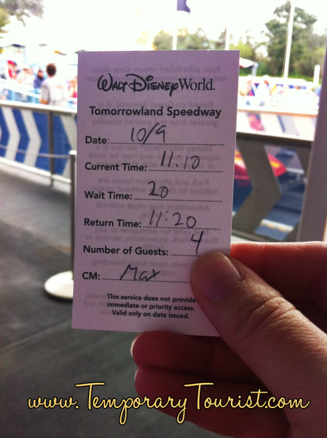 Blogging mother, Temporary Tourist, shares her experiences of Disney's Guest Assistance rule change