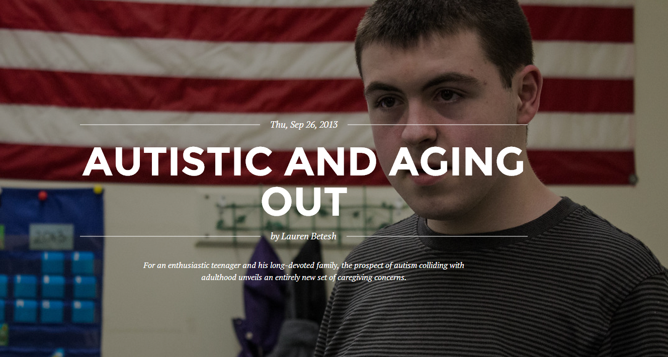 """""""Autistic and Aging Out"""" – What Happens When Children with Autism Grow Up?"""