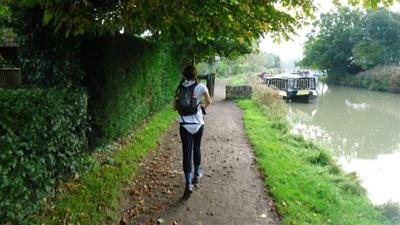Sally Tonkin Hiking 24 Peaks in 24 Hours for the National Autistic Society