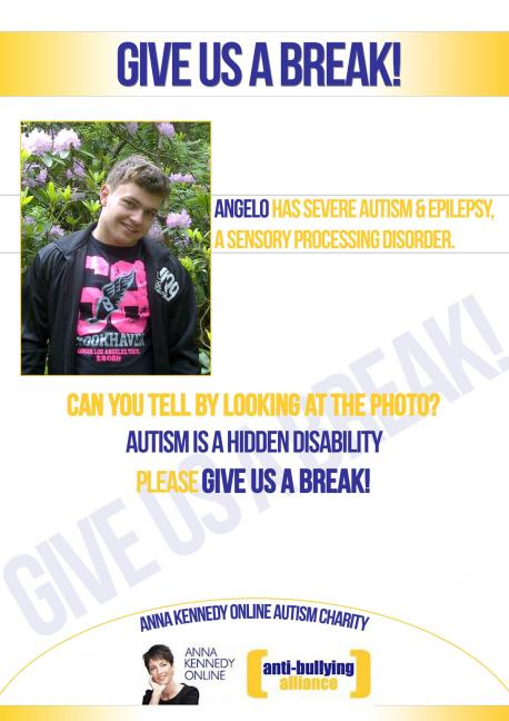 British Celebs go twitter crazy for autism Anti bullying poster