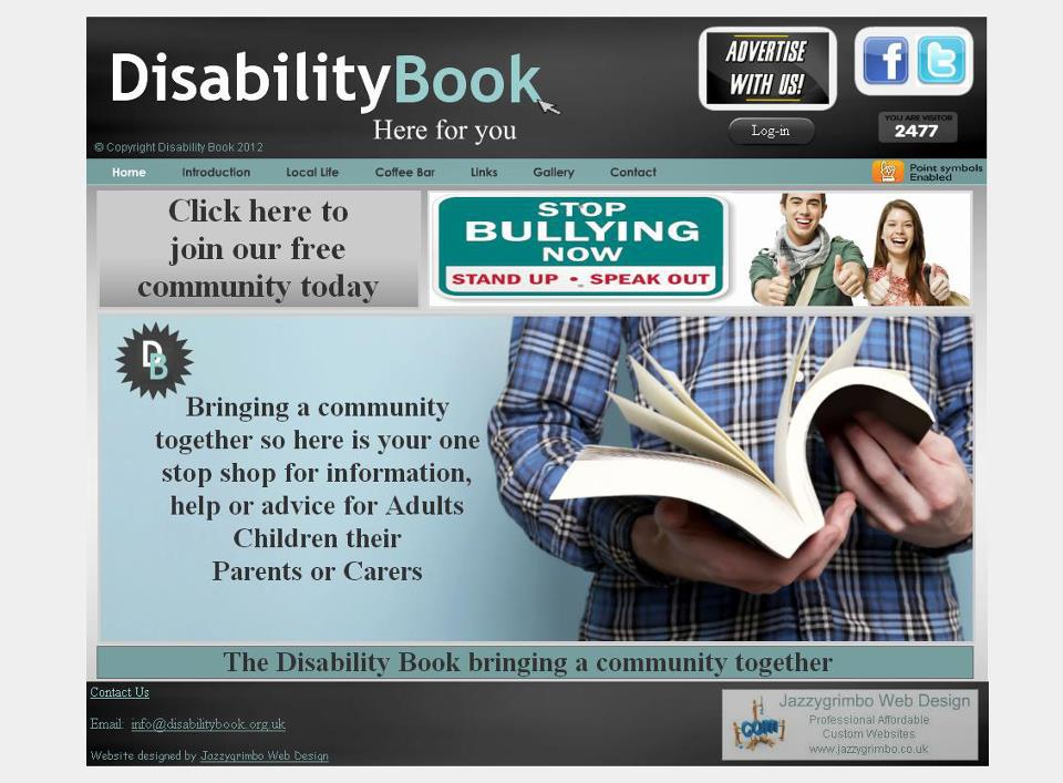 Paul Costello, Founder of The Disability Book