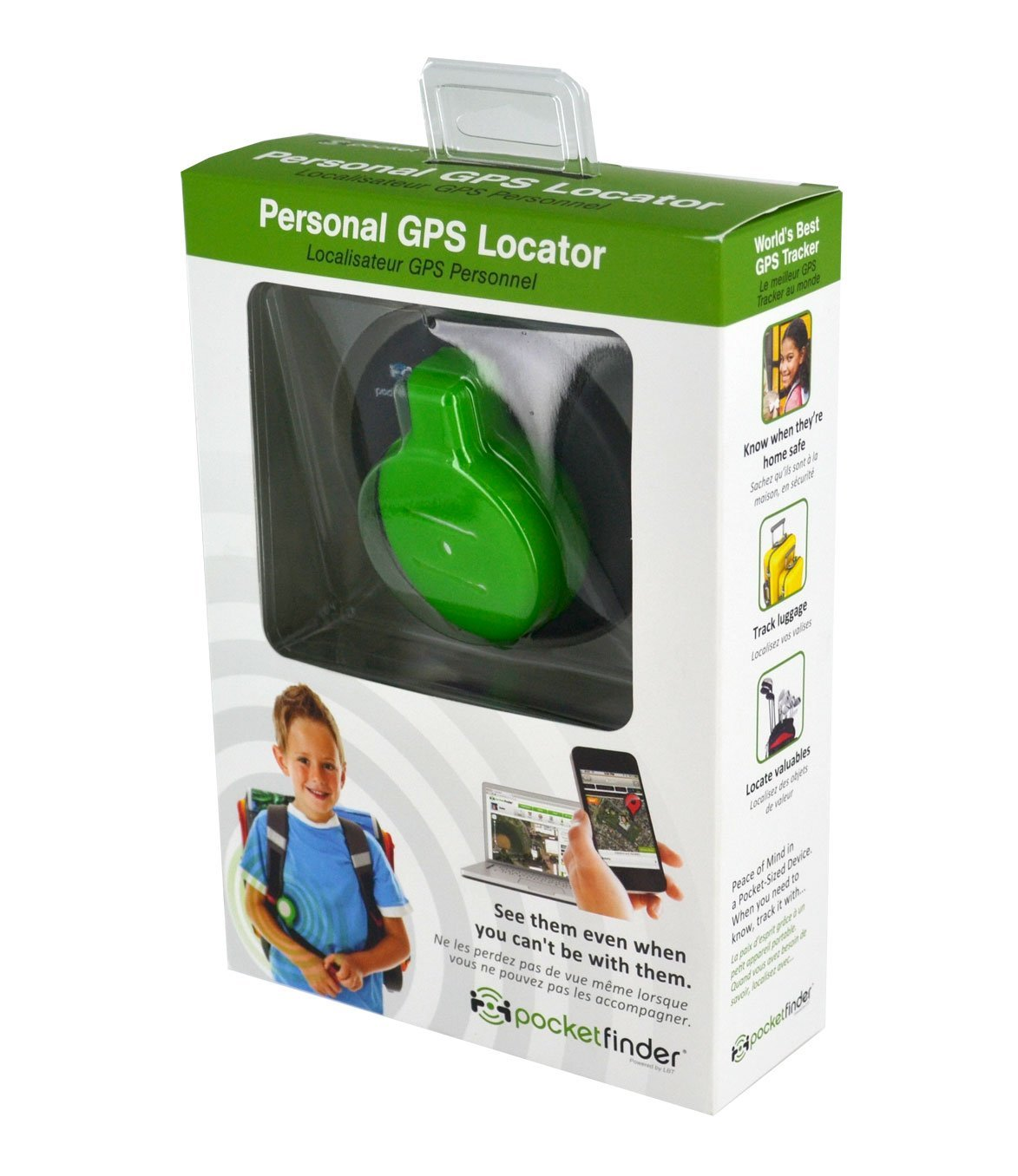 A Worry Free Life With PocketFinder Personal GPS Locator