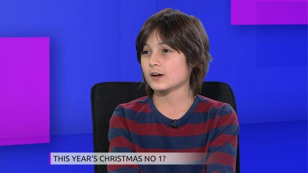 UK eleven year old Aspergers boy competes for Christmas number one