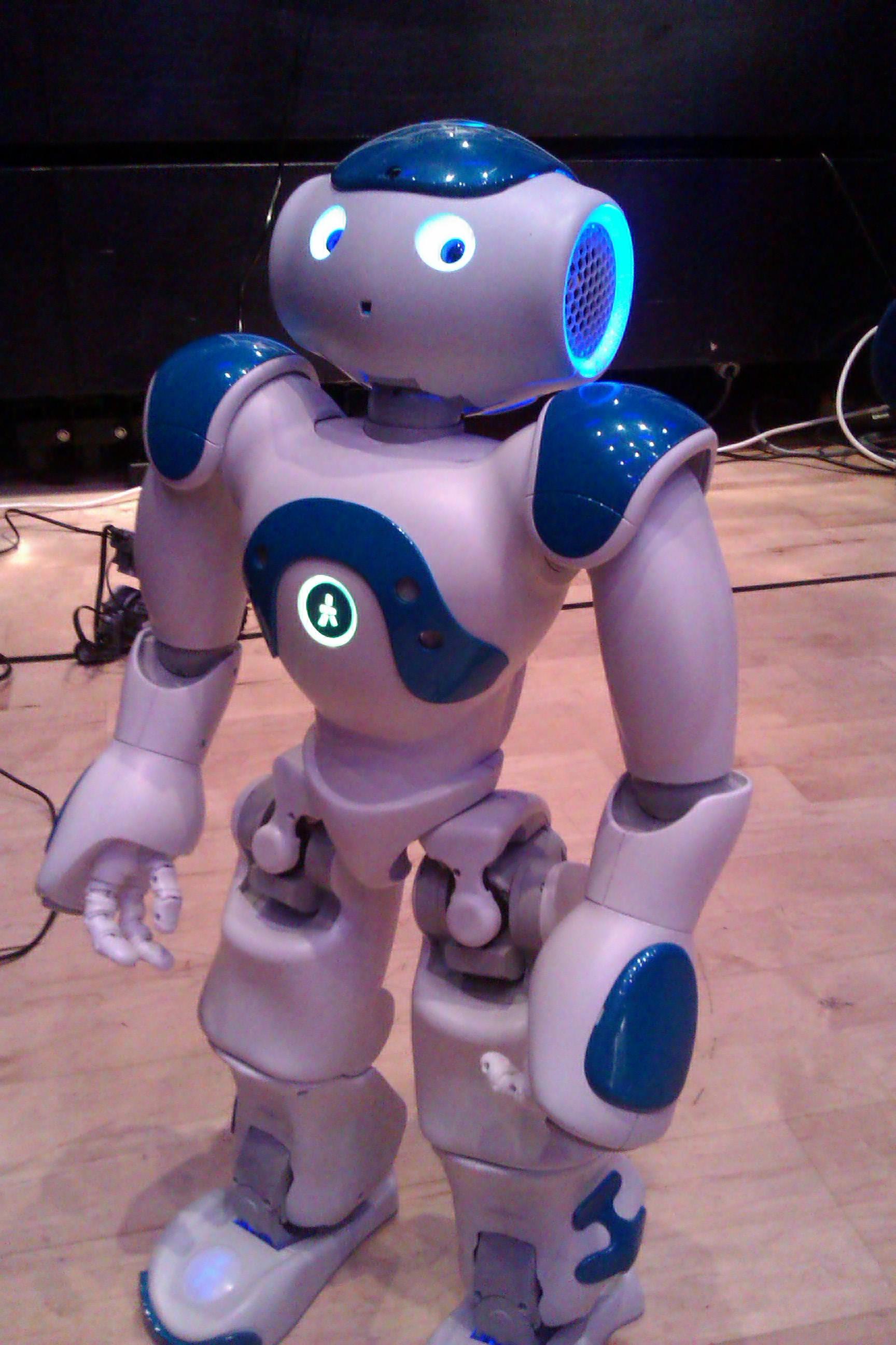 Kansas school test robots with autistic children