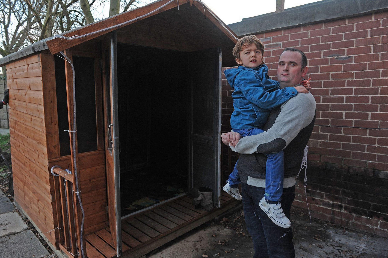 Vile arsonist destroy autistic boy's Christmas dream