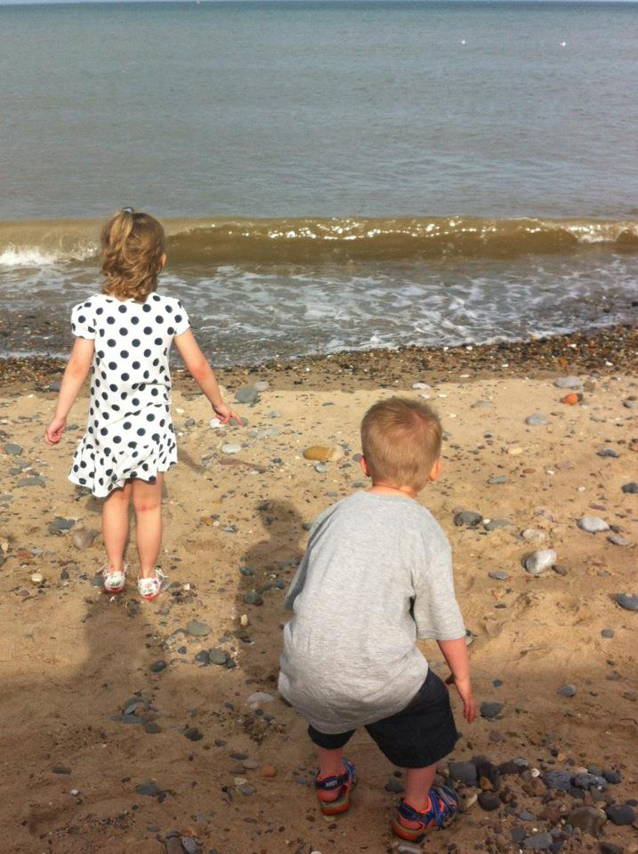Katie Johnson from Lancaster UK, music helps autistic son when walking outdoors