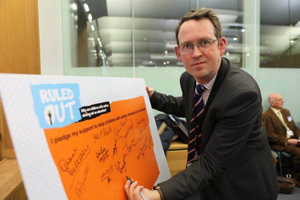 Blackpool MP backs children with autism