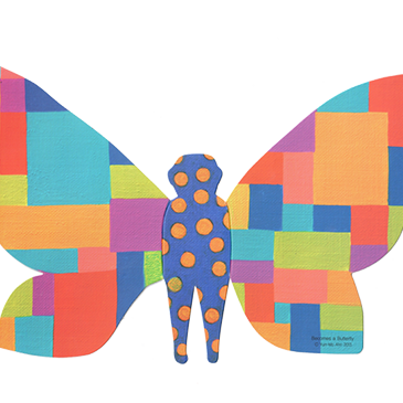 'Become a Butterfly Project' inspiring autistic children to create art
