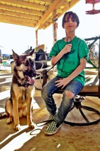 Sasha and Duke
