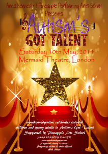 Anna Kennedy Announces Autism's Got Talent 2014
