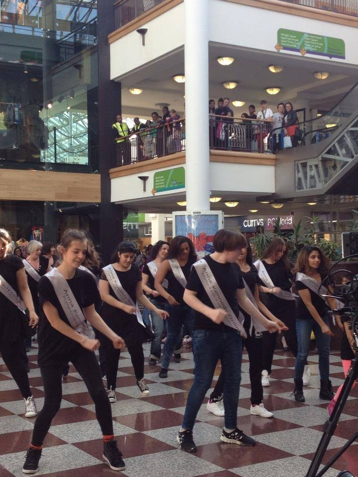 Anna Kennedy Online Flash Mob Dances in Croydon for Autism Awareness Month
