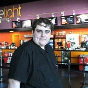 Chris Birss, at the Light Cinema, New Brighton, photo credit Tony Kenwright