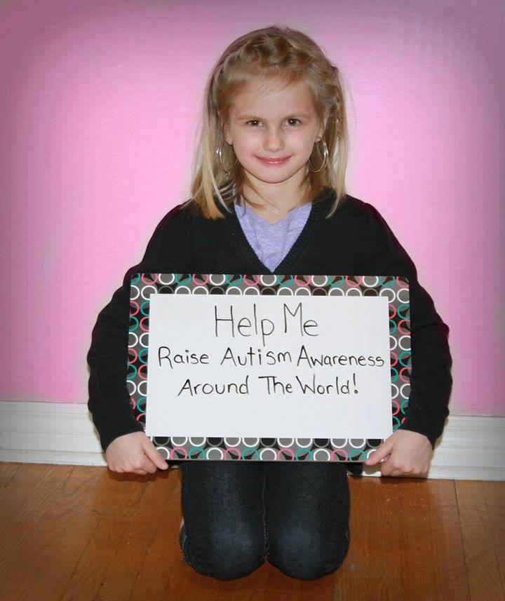 Little Girl Makes Friendship Bracelets for Autism Awareness