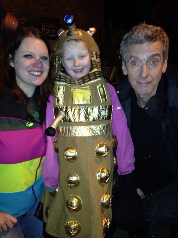 Adama McCullough talks about life with her young autistic daughter and on meeting Doctor Who