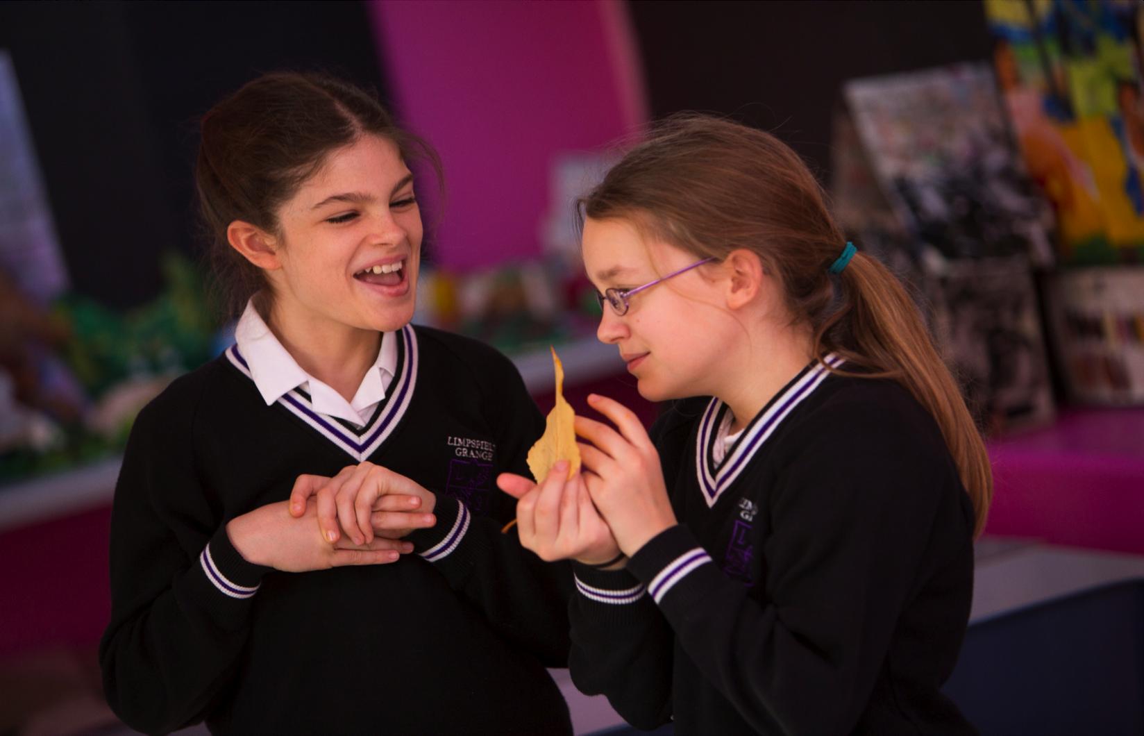Limpsfield Grange School fiction novel highlights girls on the spectrum