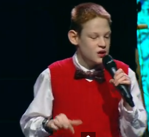 """Christopher Duffley describes himself as """"a 12 year old musician/singer who happens to be blind and autistic."""""""