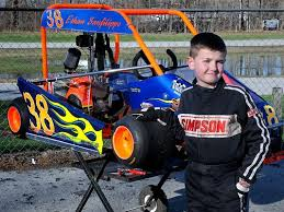 Young boy with autism finds passion on the race track