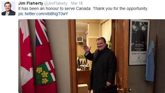 Disability Community Mourns Jim Flaherty