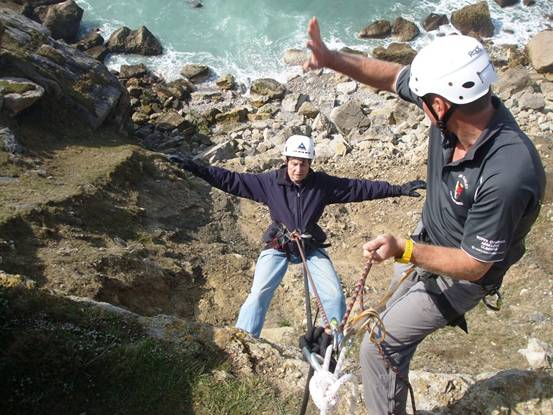 85 year old pensioner plummets 85 ft for autism charity