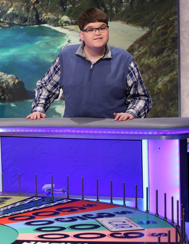 Trent Girone wins viewers hearts on the 'Wheel Of Fortune'