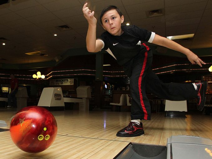 Trey Brand, youngest bowler in Springfield USBC's history