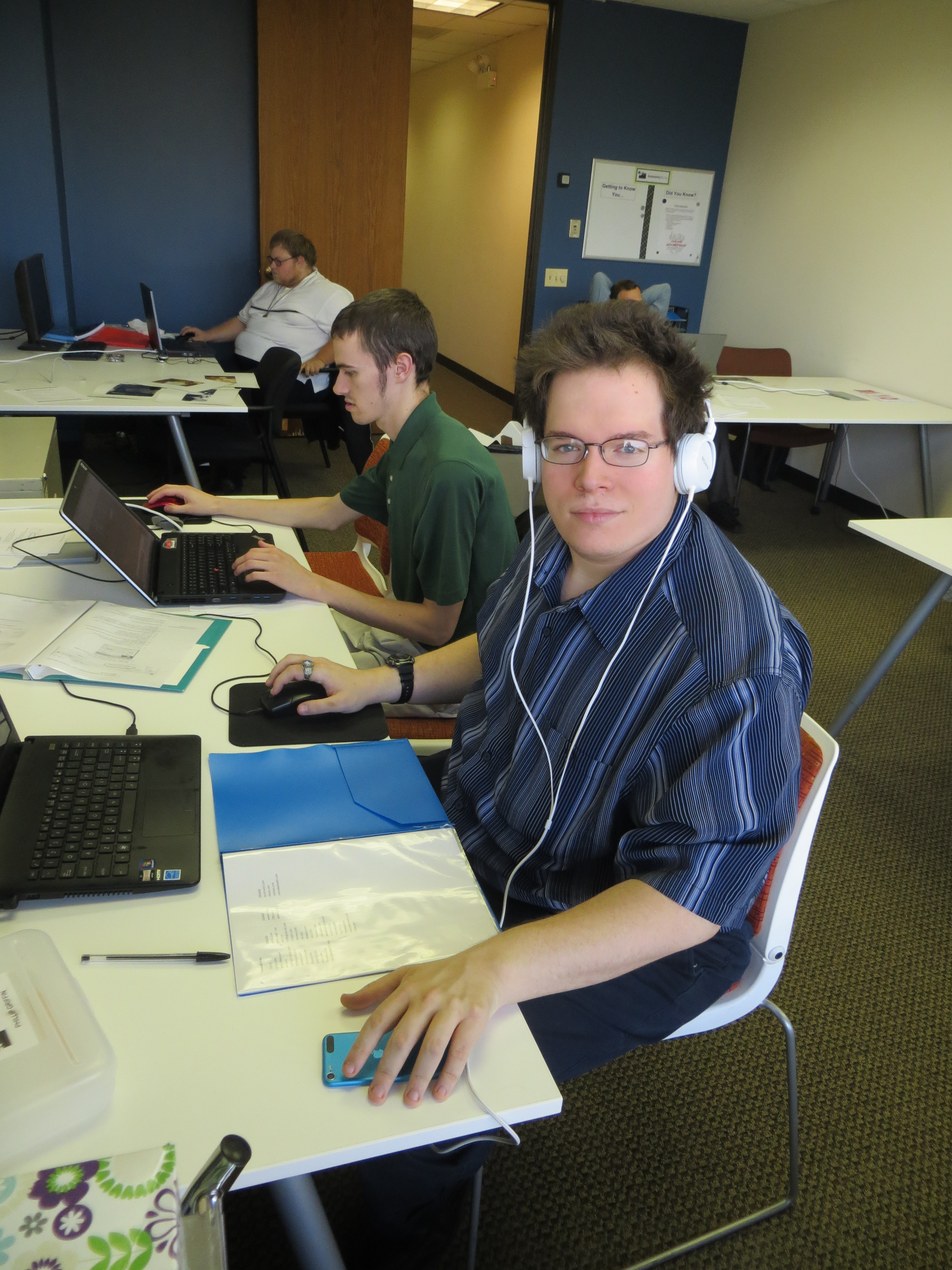Chicago based AutonomyWorks employs young adults with autism