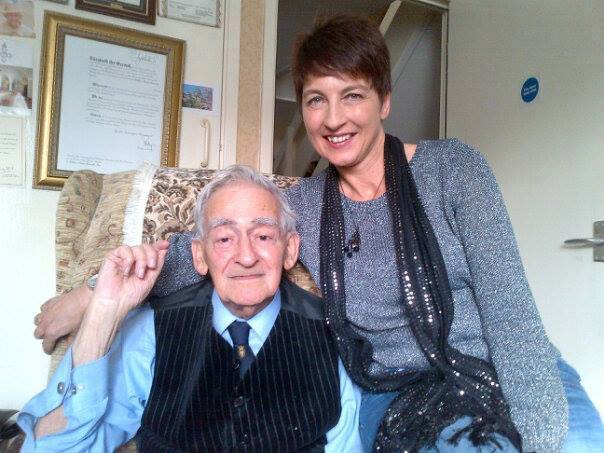 Anna Kennedy pays tribute to friend and D-Day War Veteran David Kamsler MBE