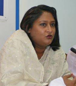 Saima Wazed Hossain wins award from  World Health Organization for fight against Autism