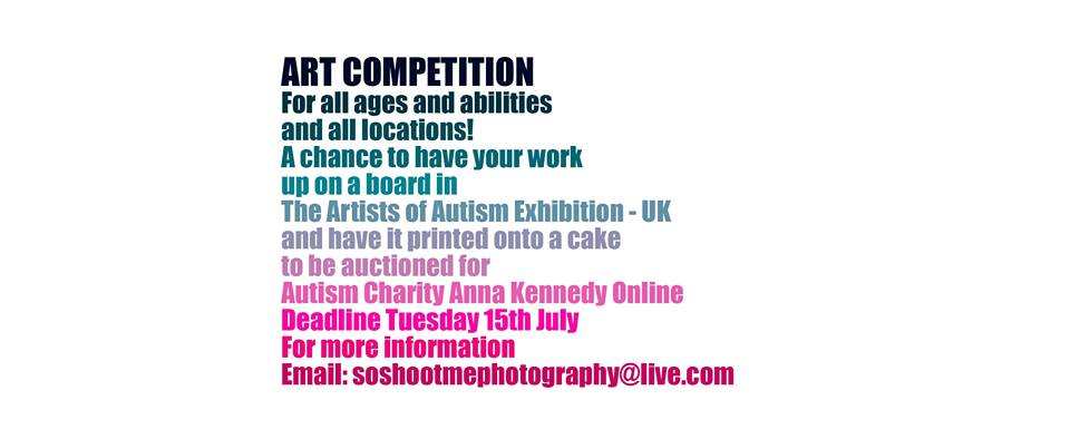 Artists of Autism – Thursday Events Evenings and Art Competition