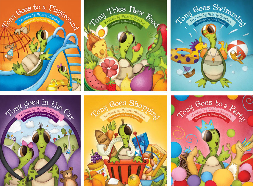Tony the Turtle books for children with Autism – Review