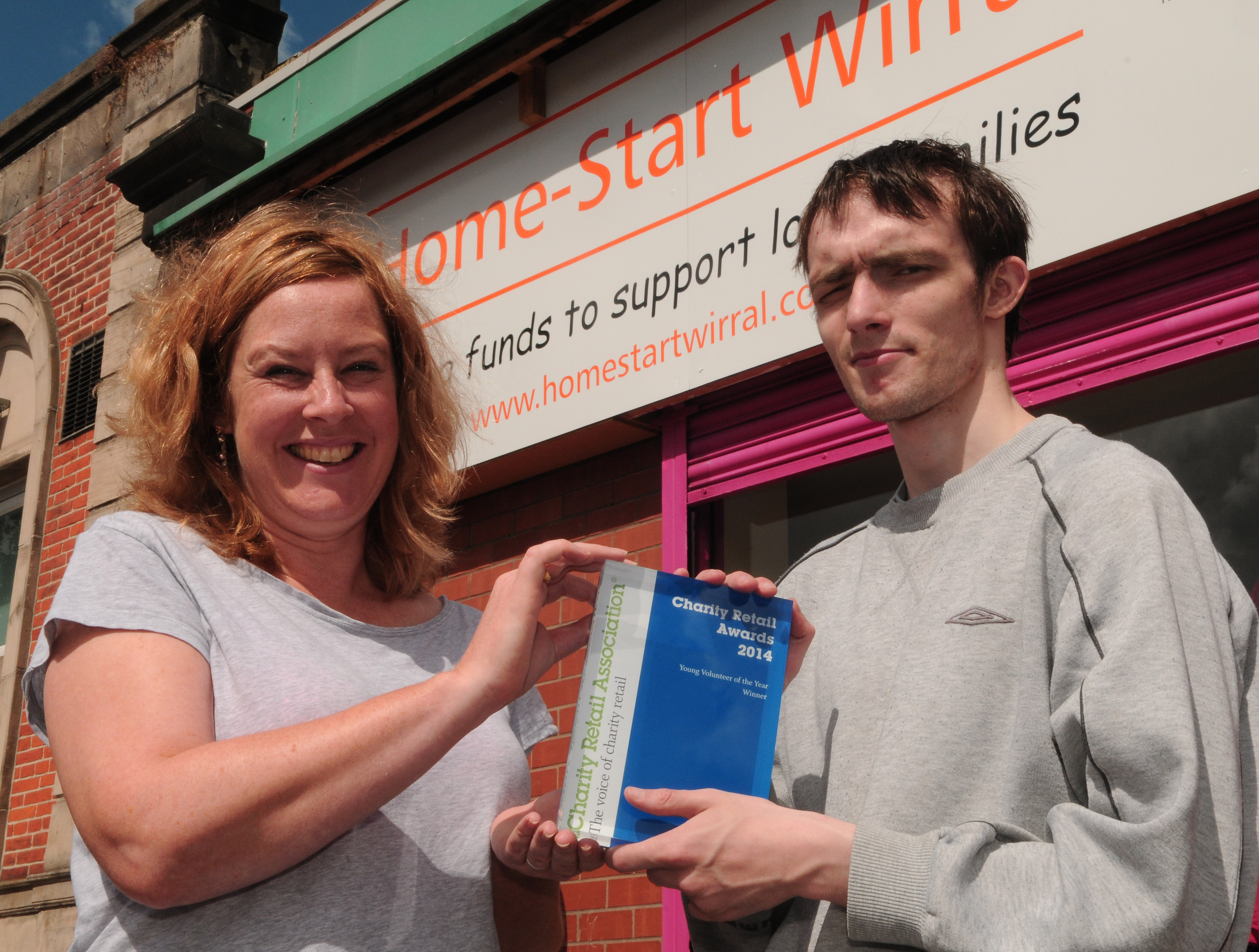National Award for Young Man with Asperger's who Thought he Would Never Work