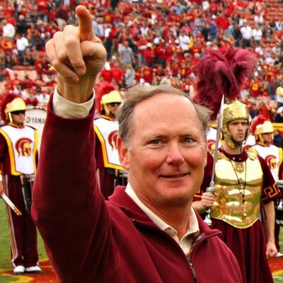 Pat Haden USC Athletic Director donates $25,000 Fine to Autism Research