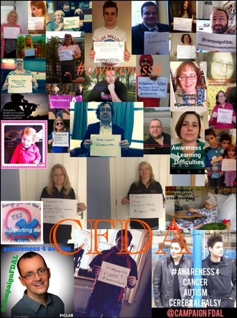 Campaign For Disability Awareness Lessons launch campaign video and poster
