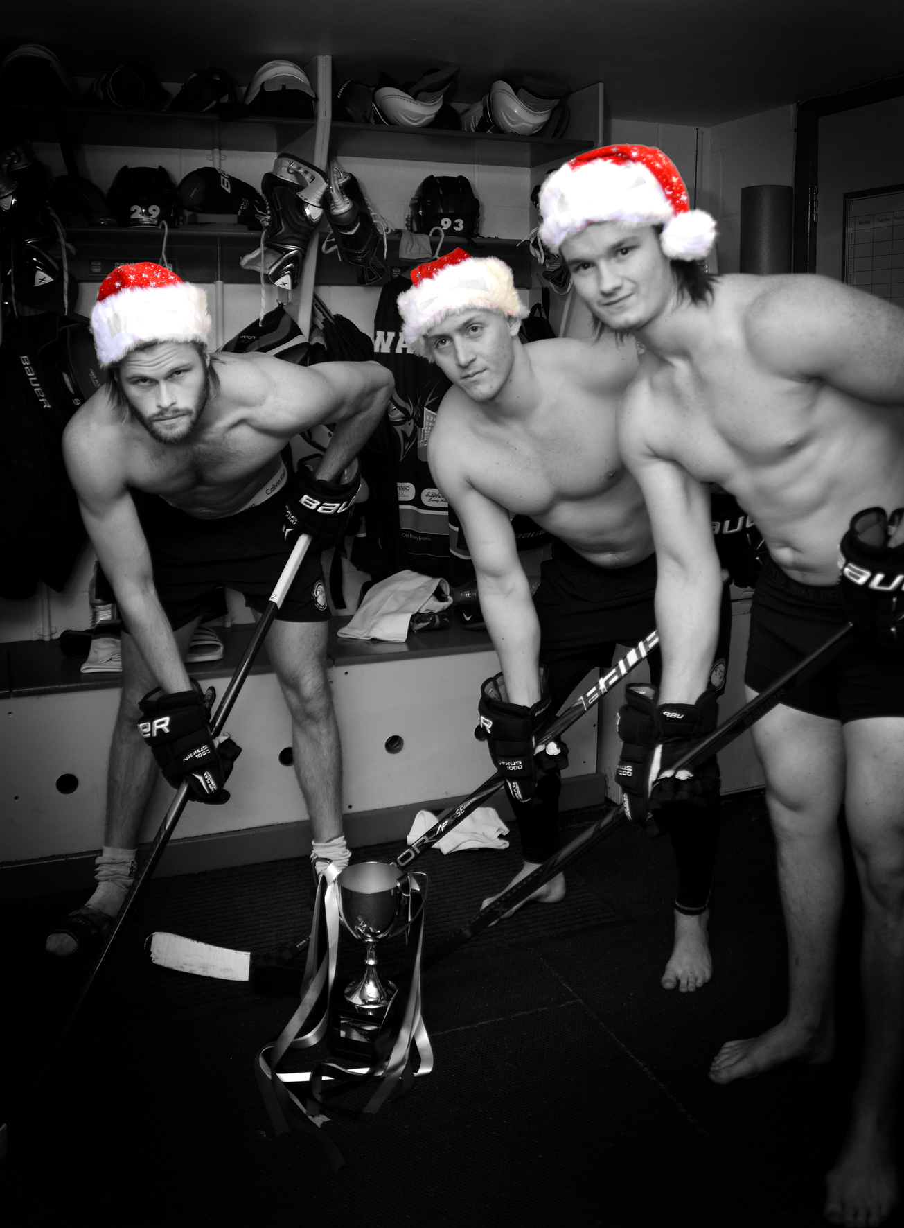 Manchester charities join forces to crowd fund and create a naked sports calendar!