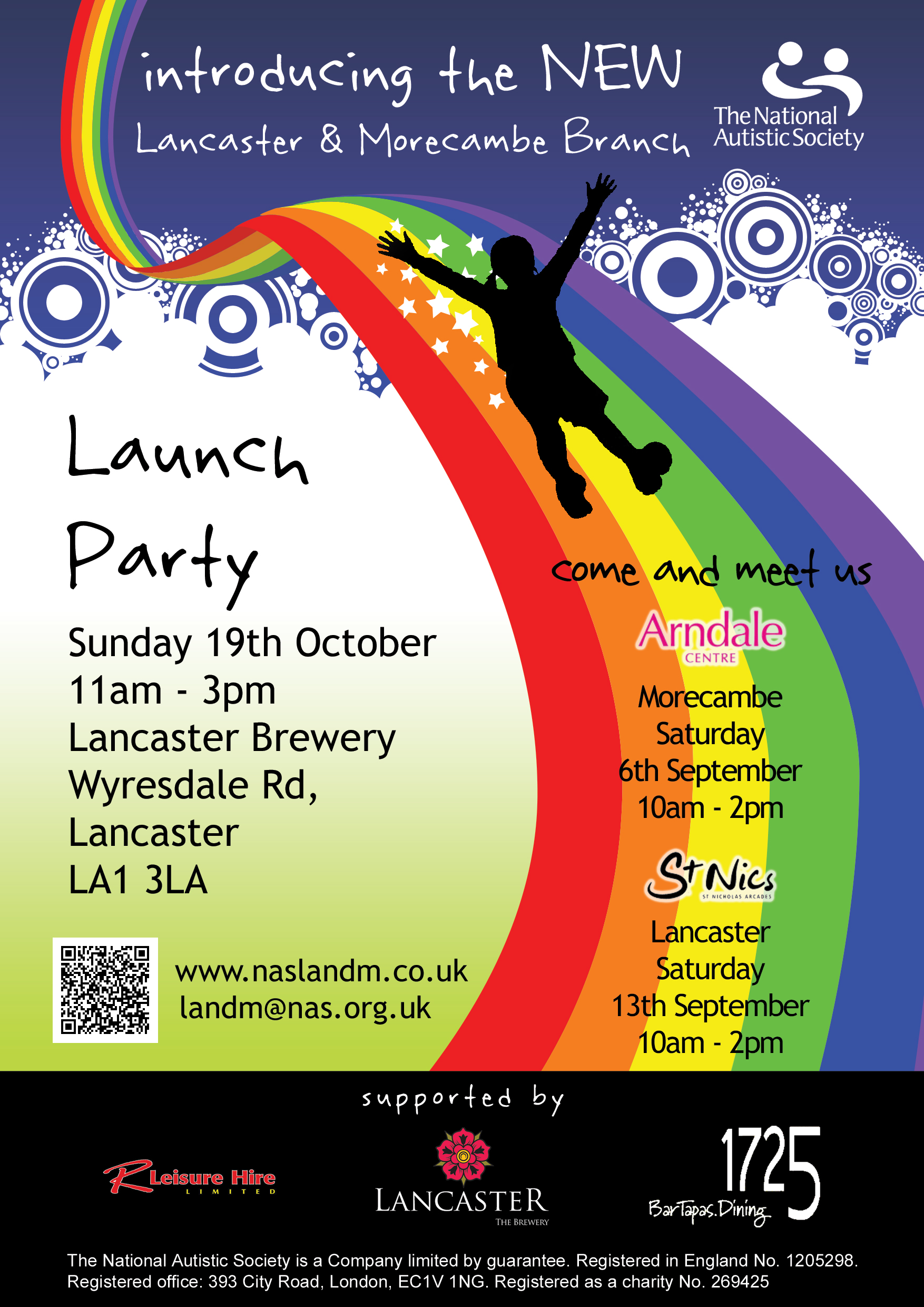 National Autistic Society Lancaster and Morecambe Branch Launch Party