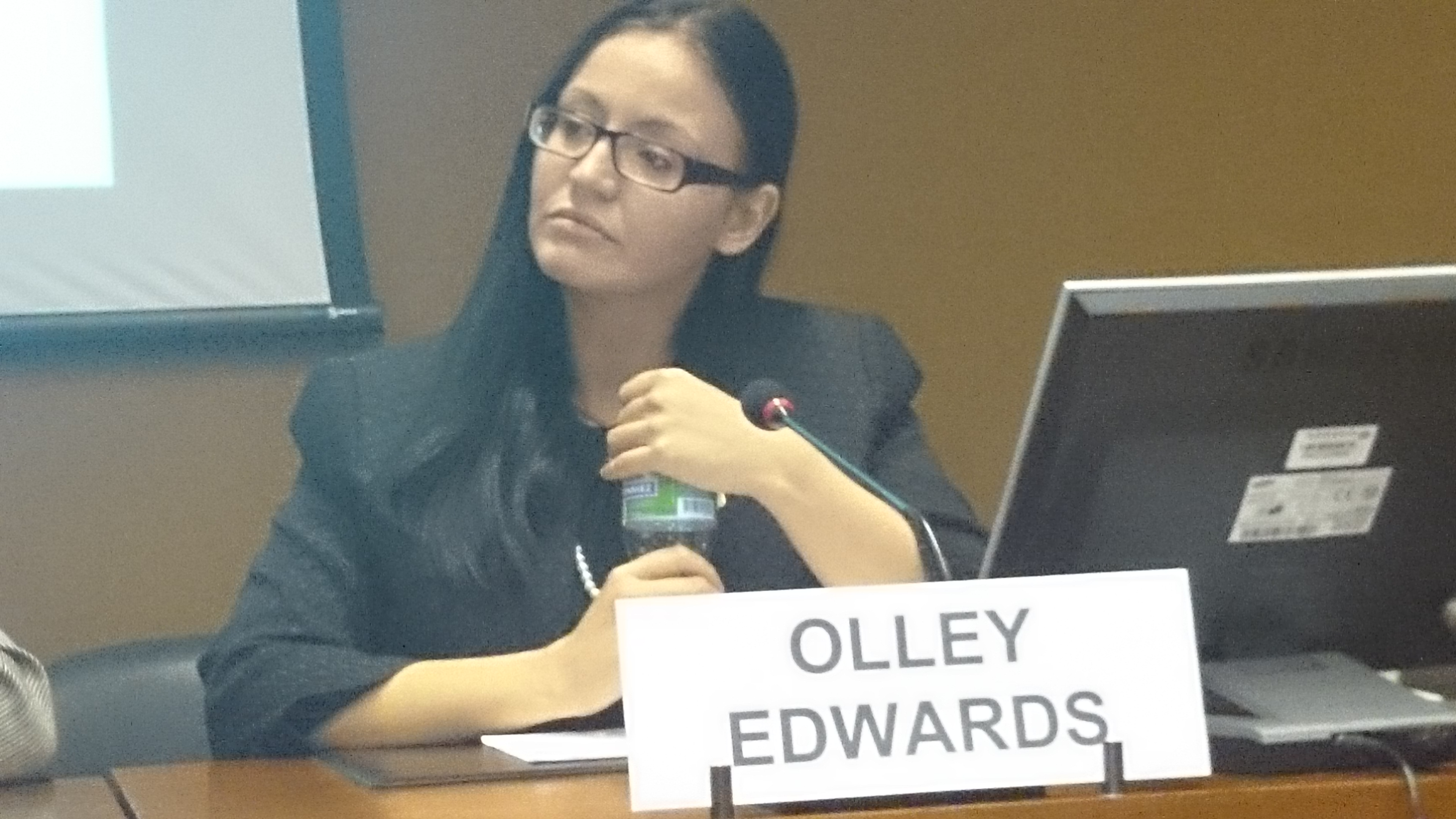 UPDATE – Olley Edwards on Autism Women Matter and the United Nations Economic Commission for Europe Part 1