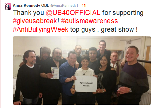 Anna Kennedy Online Supports Anti-Bullying Week 2014 National Campaign