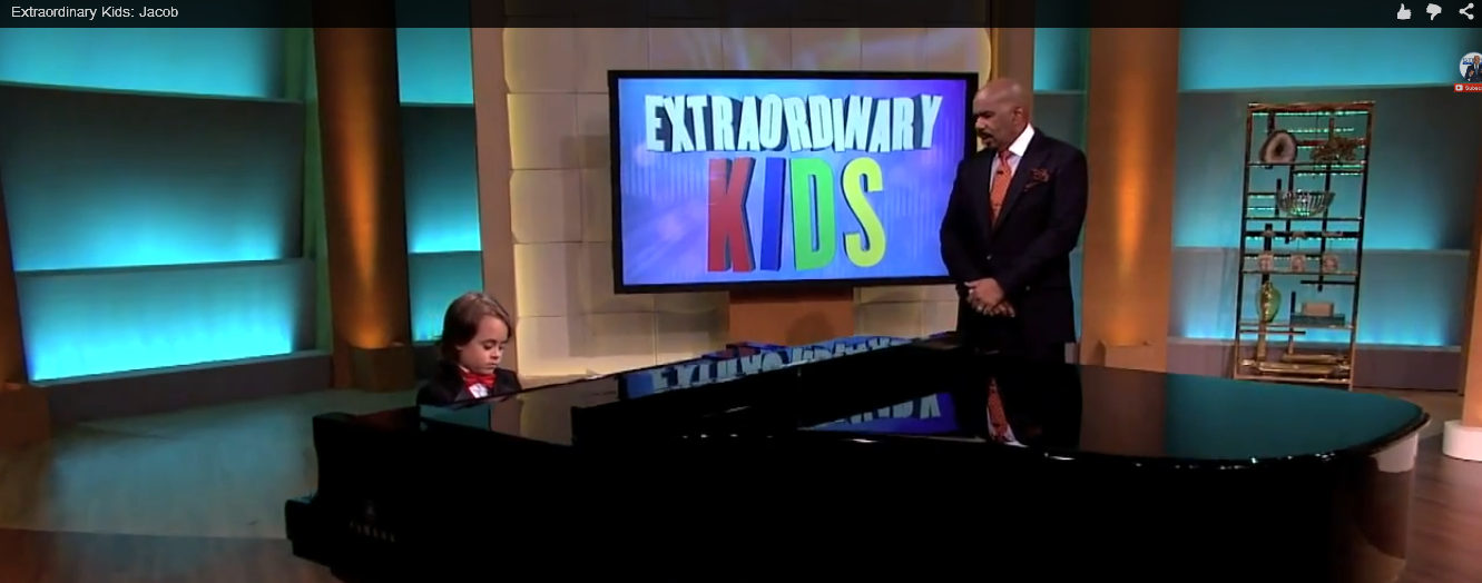 7-Year-old with autism wows host Steve Harvey and the rest of the audience