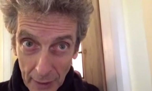 Peter Capaldi sends heartwarming video message to young autistic boy whose grandmother has recently died
