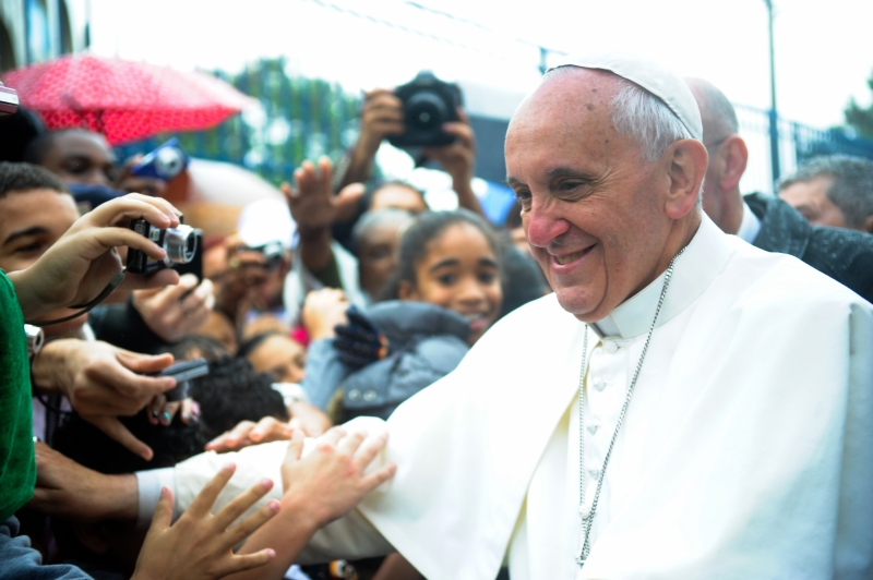 Will Pope Francis embracing children with autism help end the stigma?