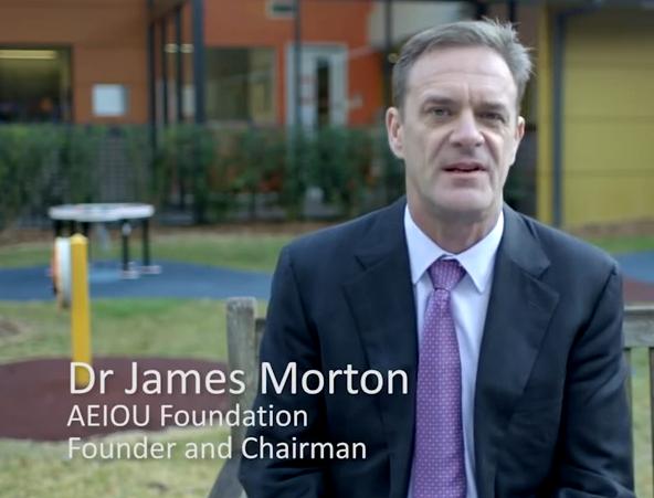 Dr James Morton autism activist receives Order of Australia honour w/video