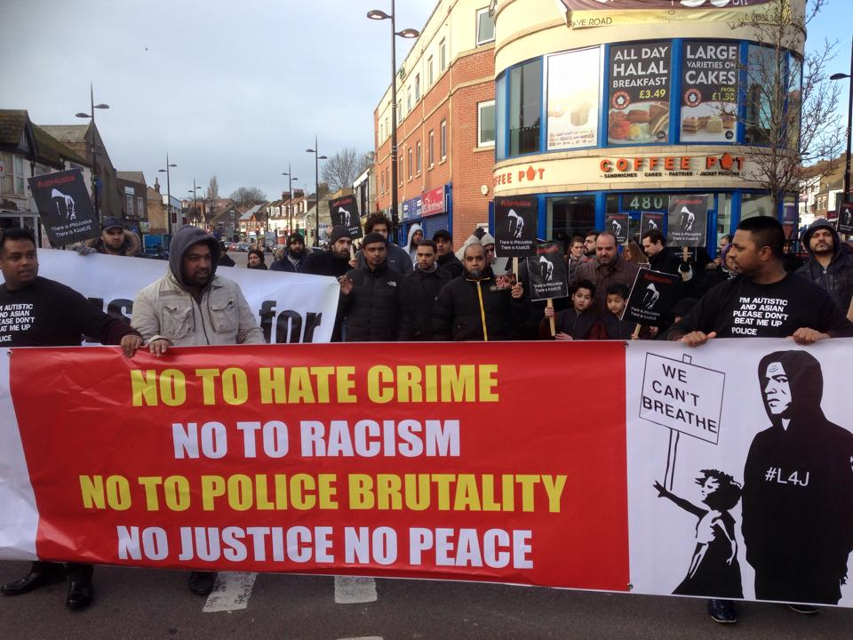 Justice 4 Faruk march – police officers cleared of assaulting man with autism