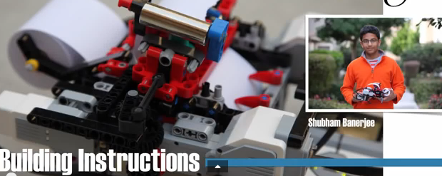 Young boy invents Braille printer for the blind using Lego