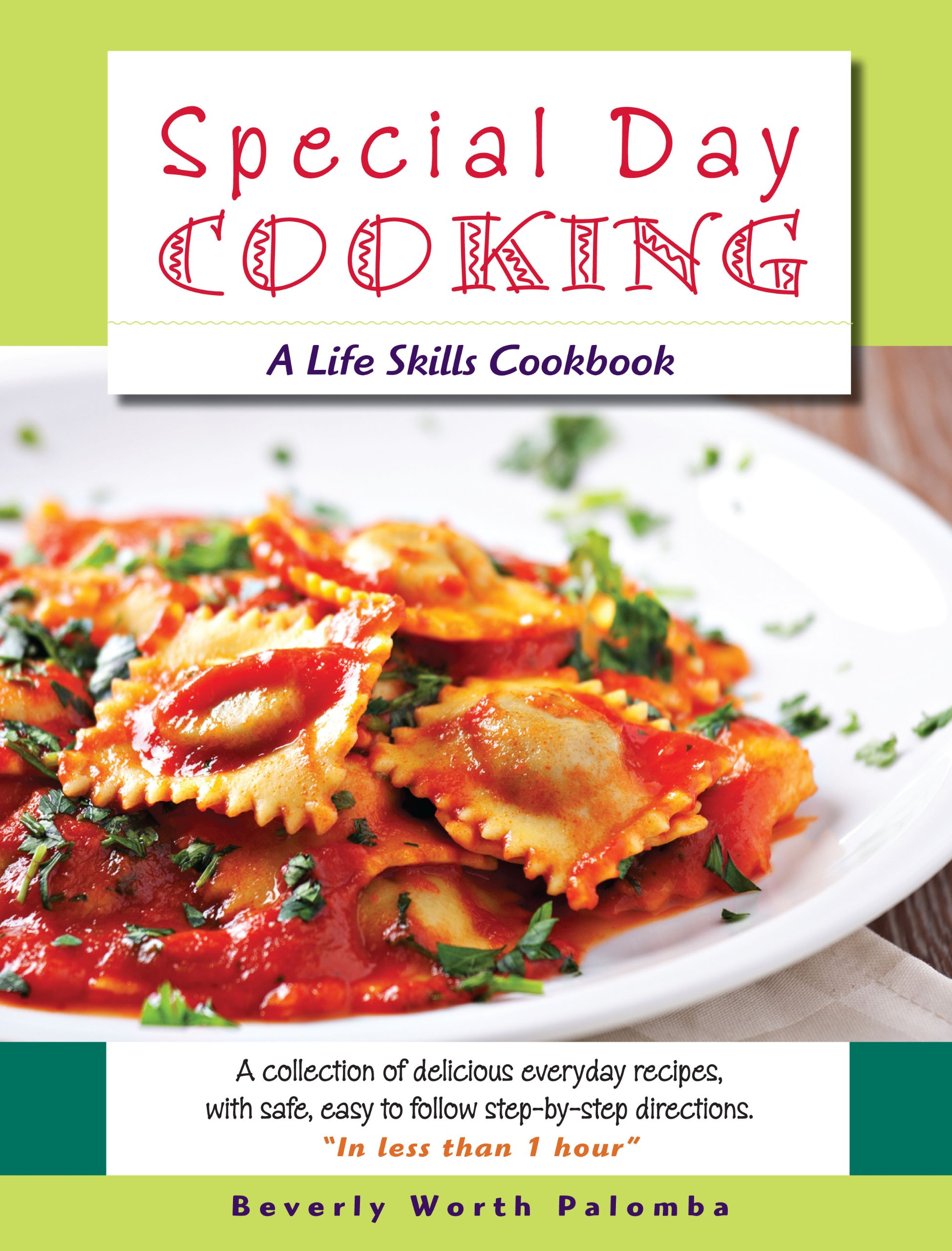 Book Review – Special Day Cooking: A Life Skills Cookbook