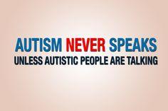 Autism Speaks is smart, very smart